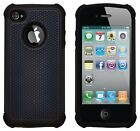Shock Proof Heavy Duty Tough Armour Hard Case Cover For Apple iPhone 4 / 4S