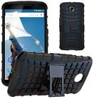 Shock Proof Heavy Duty Tough Armour Stand Case Cover For Motorola Google Nexus 6