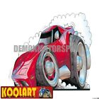 Koolart Cartoon Chevrolet Chevy Corvette C3 Stingray Red - Mens Gifts (980)