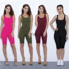 Sexy Women Bodycon Summer Jumpsuit Short Romper Slim Clubwear Backless Suit TXWD