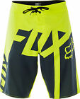 NEW FOX RACING MENS ADULT FL YELLOW GATOR BOARDSHORTS SWIM SURF BOARD SHORTS