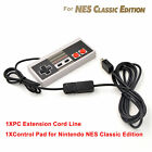 2PCS 9.8ft Extension Cable Cord for Nintendo NES Mini Classic Edition Controller