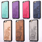 Luxury Leather Dream Catcher TPU Back Case Cover Skin for iPhone 6 6S/6S 6 Plus