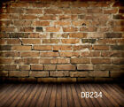 Brick Wall & Wood Customized Vinyl Photography Backdrop Background Studio Prop