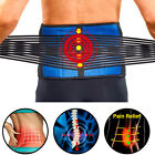 HOT Magnetic Heat Waist Belt Brace For Pain Relief Lower Back Therapy Support US