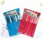 Painting Brush Set - 14 PCS Art Brush For Oil Painting Watercolor Gouache PU Bag