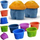 Kitchen Silicone Muffin Tops Baking Cups Jeans Shaped Baking Cups Cupcake Mould
