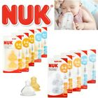 NUK First Choice+ Baby Milk Formula Feeding Bottle Silicone / Latex Teats S,M,L
