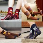 Lovely Women Men Cartoon Fox Pattern Cotton Elastic Ankle Socks Stocking Novelty