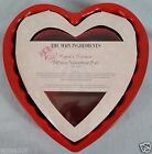 The Main Ingredients Cupid's Kitchen 2 Piece Valentine Pan Red Heart Shaped NEW!