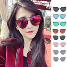 Fashion Women Ladies Summer Resin Sunglasses Metal Frame UV400 Glasses Eyewear