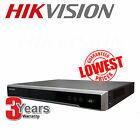 UK HIKVISION DS-7604NI-E1-4 4 CH 4x POE 6MP 3MP 1080P ONVIF NVR HD RECORDER