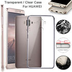 Ultra Thin Clear Shockproof TPU Protective Case Cover For HUAWEI Mate 9 Honor X6