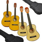 Classical Guitar for Beginners in 1/4, 1/2, 3/4 and Full Sizes - Natural Wood in