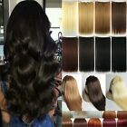 Mega Thick One Piece 3/4 Full Head Clip In Hair Extensions Real As Human Hair FT