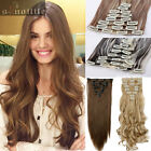 Beauty Women hair piece Long Clip in Full Head Hair Extensions Extension 18clips