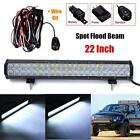 294W 29400LM 20'' 5D 42 LED Spot Flood Work Bar Light for Jeep SUV Offroad 4WD