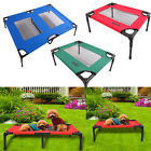 Petcomer Detachable Assembly Dog Pet Cat Elevated Camping Bed Indoor Outdoor