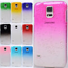 Vivid wet rain FANCY mint color hard Case cover skin for Samsung GALAXY S5 i9600