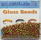 GREEN/BROWN GLASS BEADS for Fly Tying/Dressing for Trout & Salmon Flies