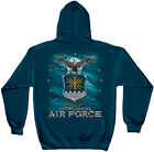 Erazor Bits Hooded Sweatshirt Sweater Hoodie USAF United States Air Force Navy