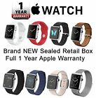 Original Apple Watch 38mm & 42mm Stainless Steel Case for iPhone UK Stock