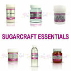 Rainbow Dust Sugarcraft Essentials Cake Decorating Tylos CMC Gum Trag Glue Glaze