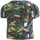 Game T-Shirt Army Military Camo Camouflage Outdoor Armee