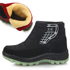 New Winter Snow Warm Womens Ankle Boots Shoes Balck Red