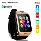 GT08 Bluetooth Smart Watch For HTC Samsung iPhone iOS Camera SIM Slot UK