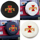 Iowa State Cyclones Exact Fit Size Black or White Vinyl Spare Tire Cover