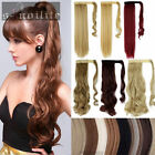 Clip In Pony Tail Hair Extension Wrap Around Ponytail Hair Extension Piece HG71