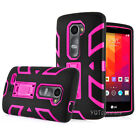 LG Leon C40 / Power L22C / Destiny L21G Hybrid Hard Stand Armor Case Phone Cover