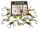YELLOW *WIGGLERS* Weighted Fly/Baitfish 'Flies' for Trout, Sea or Coarse Fishing