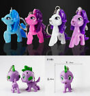 Disney My Little Pony Sound Flashlight LED Light Lamp Keychain Key Ring Toy Gift