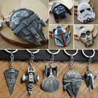 Star Wars Millenium Falcon USS Vengeance Metal Keyring Keychain Key Chain Gifts $3.19 CAD