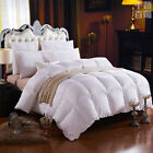 LUXURIOUS 1000TC HUNGARIAN GOOSE DOWN Comforter BAFFLE BOX TWIN FULL QUEEN KING