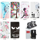 "For Huawei Honor 5X (5.5"") Wallet Card Stand Flip Magnet PU Leather Case Cover"