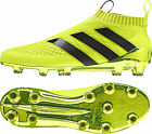 adidas ACE 16+ Purecontrol Primeknit Firm Ground Mens Football Boots - Yellow