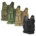 Lancer Tactical Cross Draw Magazine and Pistol Holster Adjustable Vest with Belt