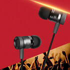 Hot In-Ear Metal Stereo Earphones HIFI Headphones Super Clear Bass Headset LAUS