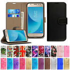 Luxury Leather Flip Wallet Phone Case Cover For Samsung Galaxy J3 J5 J4 J6 2018