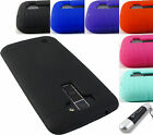 FOR LG PHONE MODELS SOFT SILICONE RUBBER GEL SKIN CASE PROTECTIVE COVER+STYLUS