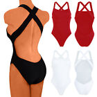 AU Womens Bikini Monokini Push Up Padded Bra One-Piece Beach Swimwear Swimsuit