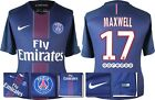 *16 / 17 - NIKE ; PSG HOME SHIRT SS / MAXWELL 17 = SIZE*