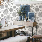 Eclipse Black Print Geometric Design Wallpaper Feature Wall FD23849