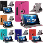 """Leather 360° Folio Leather Case Cover For Universal Android Tablet PC 7""""-10"""" HOT"""