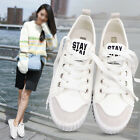 Women's New Casual Shoes Breathable Sneakers Canvas Running Athletic Sport Shoes