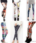 Fashion Womens Funky Leggings Stretchy Pencil Skinny Sexy Jeggings 12 Colors Hot