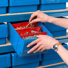 Shelf Bin Parts Bins Storage Blue Organise Rack Tools Warehouse Small Shelves